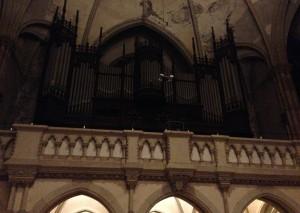 Bild von Orgel der Peterskirche