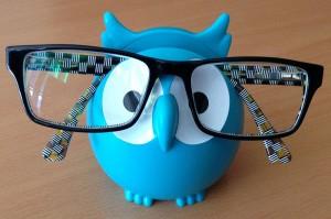 Brillen Eule
