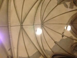 Deckenansicht der Peterskirche
