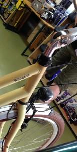 Fahrradmodell vom Typ Wildgans