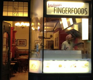 Die sympathische Front von Indian Fingerfoods