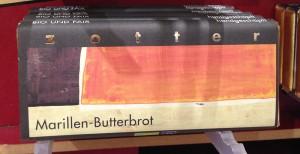 Marillen-Butterbrot Schokolade