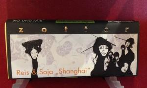 """Reis und Soja """"Shanghai"""" Schokolade"""
